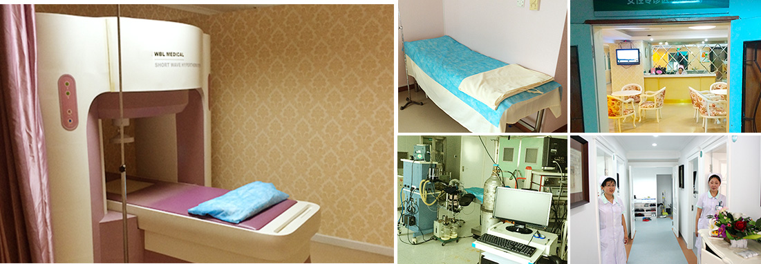赤峰附大医院医院环境以及设备设施